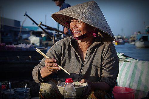 Du lịch chợ nổi Cái Răng Cần Thơ