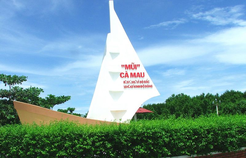 Các địa điểm du lịch nổi tiếng ở Cà Mau