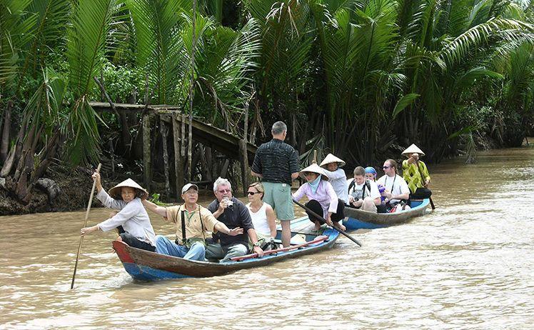 Khu du lịch sinh thái Cồn Phụng Bến Tre