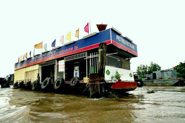 Chợ nổi Cái Bè Tiền Giang