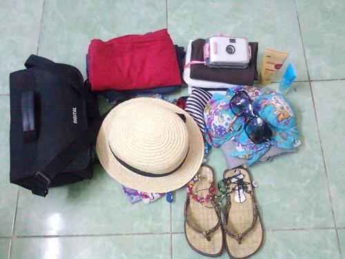 Vật dụng hành lý khi đi du lịch