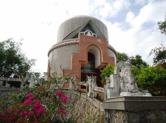 Nhà trưng bày văn hóa Óc Eo với kiến trúc độc đáo
