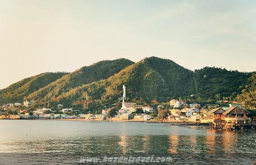Cảnh quan xung quanh núi Lớn Vũng Tàu (núi Tương Kỳ)